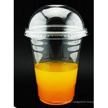 16oz-98mm Take Away Pet Drink Cup para beber agua fría / jugo / leche / bebida