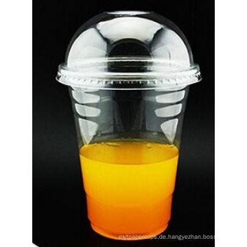 Heißer Verkauf Einweg 16oz Kunststoff Pet Clear Cup mit benutzerdefinierten Logo Print