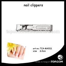Cortadoras de uñas delgadas plegadas para el cuidado personal de belleza fabricado en Japón