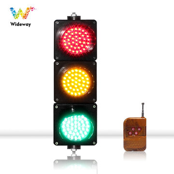 control remoto rojo amarillo verde led semáforo