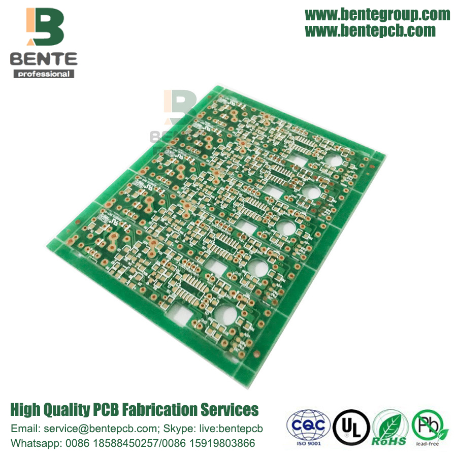 4-Layers Difficulty Multilayer Board 2oz PCB ENIG 2u