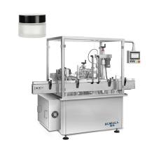 Factory price automatic 50ml 100ml CBD facial cream filling capping machine