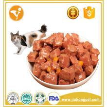 Fabricante ventas sabor de carne de vaca al por mayor comida de gato en lata