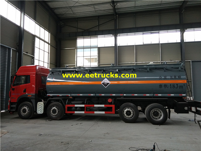 20T 18000L Dilute Sulphuric Acid Tank Trailers