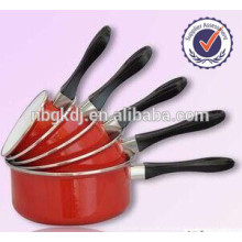 5 pcs utensílios de cozinha chique decalques torta pote de esmalte conjunto