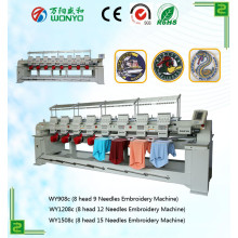 Multi-Head Embroidery Machine with Chape Price