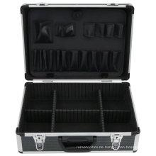 Metall Elektrowerkzeug Carry Aufbewahrungskoffer mit Organizer und Aluminiumrahmen