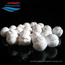 Промышленная несущая катализатора полый Перфорированный керамический шар вручную с хорошим прочность на смятие