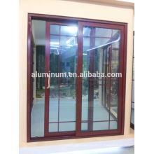 Portes en verre coulissantes bois-aluminium