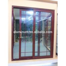 Алюминиево-алюминиевые раздвижные стеклянные двери