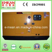 Gerador diesel de baixo nível de ruído refrigerado a água 48kw