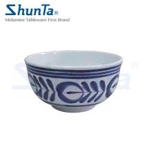 Tigela de sopa de melamina azul moderno (DC708)