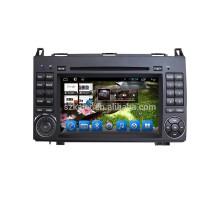 Lecteur de DVD MP5 de voiture de noyau du 1080P 1080p de noyau pour le benz B200 avec le GPS intégré 3G Wifi BT