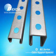 Galvanized C Shaped Steel Channel (UL, SGS, IEC and CE)