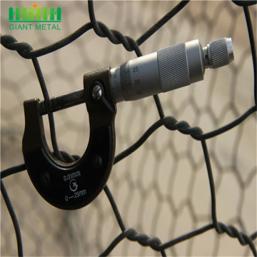 Hexagonal Decorative Galvanized Square Chicken Wire Mesh