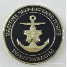 Coin avec deux côtés de logo coutume estampillée (GZHY-JP-0002)