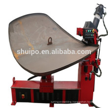 cylinder head spinning machine/steel dished end flanging machine/dished end folding machine