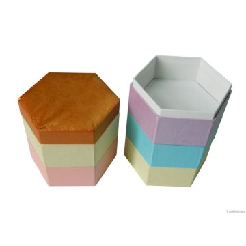 Boîte cadeau de nouveau papier design pour l'emballage
