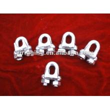 Clip de cuerda de alambre maleable galvanizado tipo A
