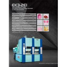 Machine de moulage par injection de chaussures en mousse EVA (3 stations)