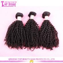 Für Fashino Haar Designer mongolische verworrene lockige Haarverlängerungen 20inches reines mongolisches Haar