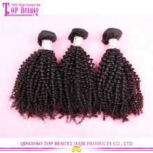 Pour Fashino cheveux concepteur mongolien kinky bouclés cheveux extensions 20 pouces vierge cheveux mongol