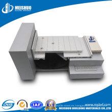 Cubiertas para juntas de expansión de aluminio para servicio pesado (MSD-QGCA-1)