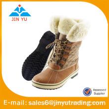Bottes en laine chaude de style chaud pour hommes