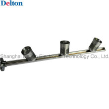 Silver 3 Light Flexible Pole LED Cabinet Lighting (DT-ZBD-001)