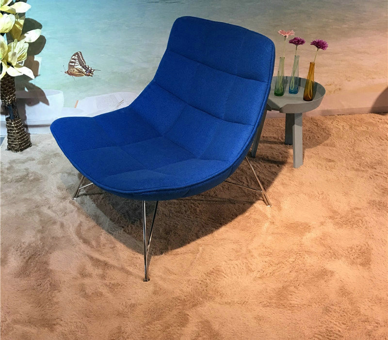 Jehs Laub Lounge Chair en tissu