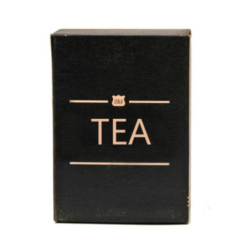 Green Tea Gift Packaging Box with Foil Stamping