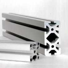 Perfil extrudado de alumínio anodizado para máquina industrial