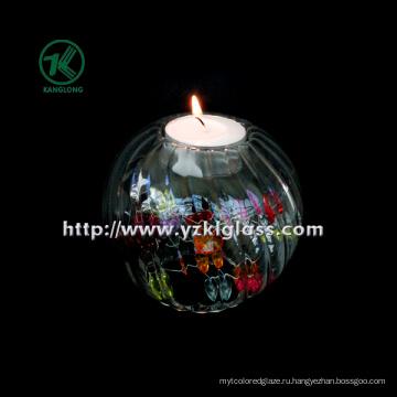 Единая стеклянная свечная бутылка от SGS. BV (8,5 * 9,5 * 9,5)