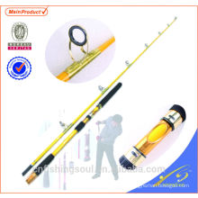 "JGR004 7'6 ""canne à pêche popping canne à pêche nano carbone"