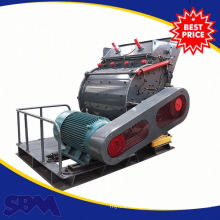 Diesel engine hammer mill crusher for limestone crushing
