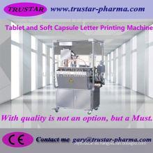 Equipo farmacéutico máquina de impresión de la letra de la tableta