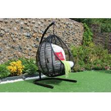 Hot Sale Rattan en forme de forme ronde Hamac - Chaise pivotante Jardin Mobilier de jardin