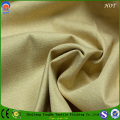 Linen-Like Polyester Flame Retardant Black -out Curtain Fabric with SGS Approved