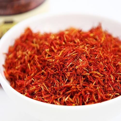 dried safflower petal tea