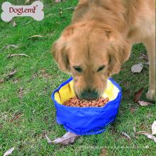 Doglemi Dobrável Foldable Portable Viagem Food & Water Bowl para Animais de Estimação Cães