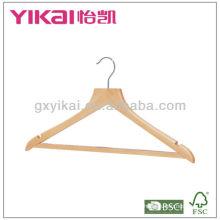 17 '' Wooden Anzug Hanger mit Hosen Bar