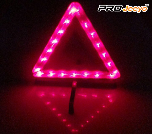 LED Warning Triangle DL-209 9