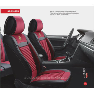 Linen and Leather Car Seat Cover 3D Shape