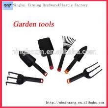6 in 1 plastic home garden tool set