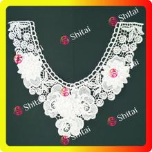 Embroidery lace collar for sales