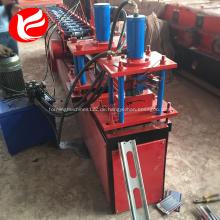 Stahlrolle der Zinkstahlfensterladentür, die Maschine bildet