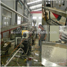PET underwater pelletizing extrusion machine