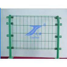 Venta caliente buena calidad PVC recubierto valla de alambre de doble filo