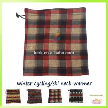 Forme el diseño para la bufanda del esquí del calentador de la cara del calentador del cuello del balaclava del paño grueso y suave polar de la Navidad