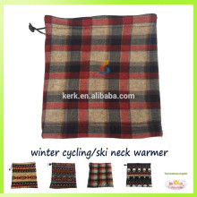 Fashion design for christmas polar fleece balaclava neck warmer face warmer ski scarf
